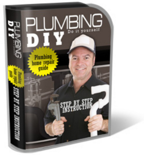 Product picture Plumbing DIY PLR Website Template Landing Page