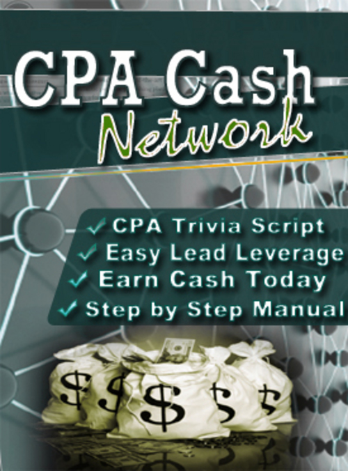 Product picture CPA Cash Network with Master Resale Rights